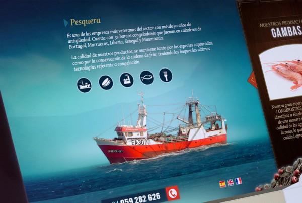Diseño y desarrollo web de Martí Peix de Huelva