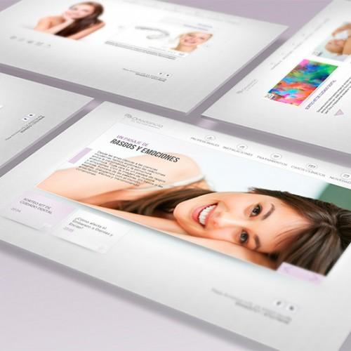 Diseño y desarrollo de la página web de Ortodoncia Martín Balbuena en Sevilla