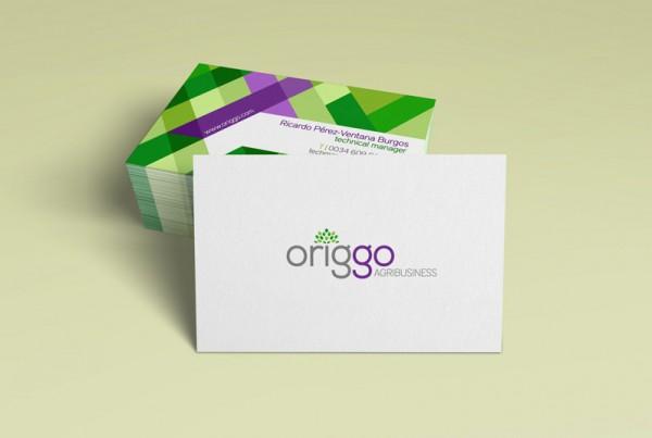 Diseño de identidad corporativa para Origgo Agribusiness