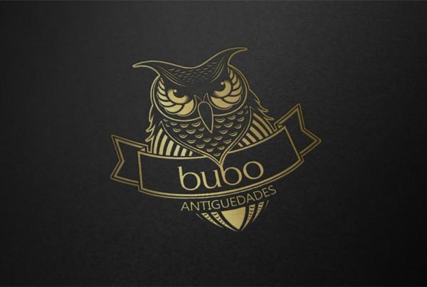 Diseño de identidad corporativa para Bubo Antiques