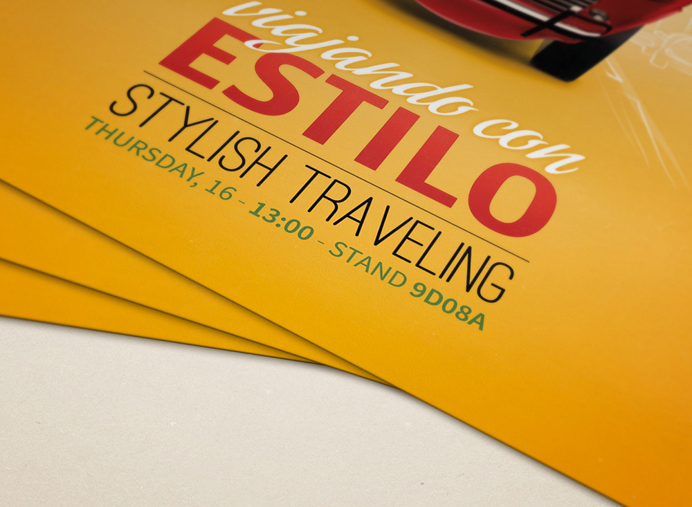 Diseño de flyer para la campaña de presentación de Fresapack. Agromartín, Lujoví y Bonafru