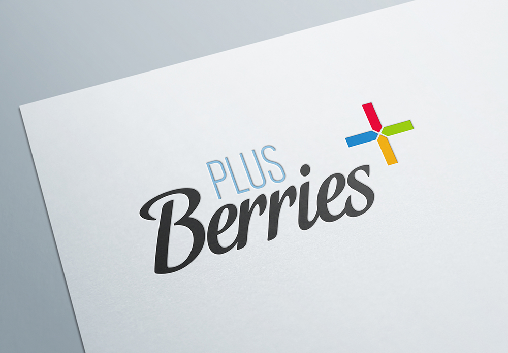 Diseño de Identidad Corporativa para Plus Berries