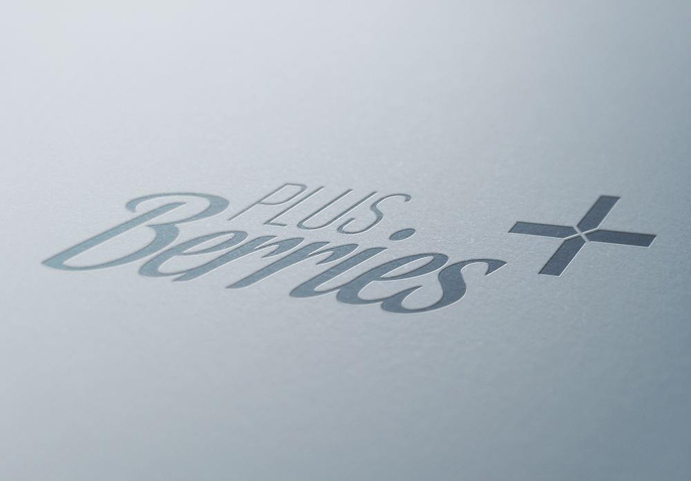 Diseño de logotipo para Plus Berries, productor de Berries